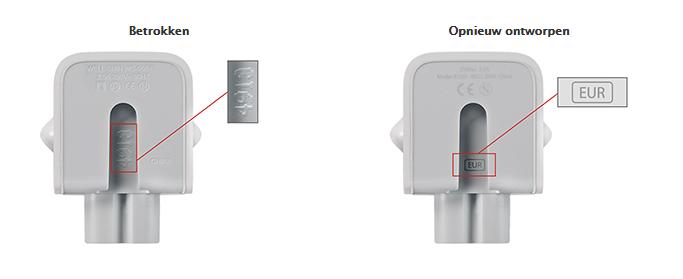 Omruilprogramma Apple-adapter